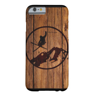 Skiing Barely There iPhone 6 Case