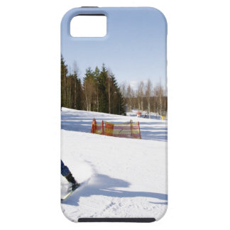 skiing iPhone 5 cover