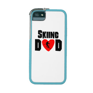 Skiing Dad iPhone 5/5S Cases