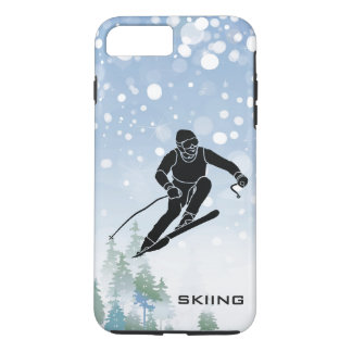 Skiing Design iPhone 7 Case
