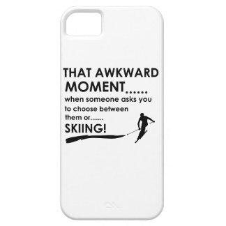 Skiing Designs iPhone 5/5S Cases