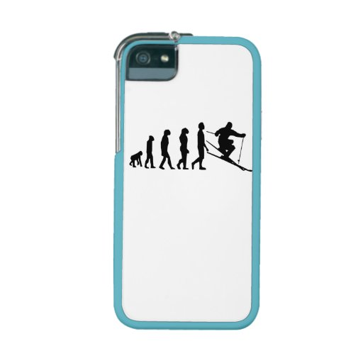 Skiing Evolution iPhone 5/5S Cover
