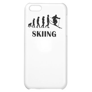 Skiing Evolution iPhone 5C Cover