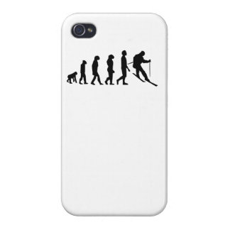 Skiing Evolution Covers For iPhone 4