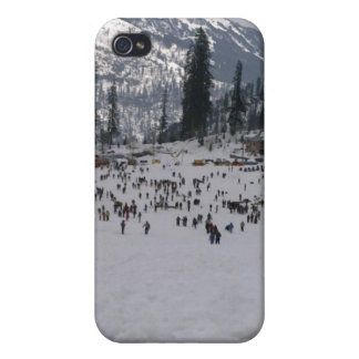 Skiing Holidays iPhone 4 Cases