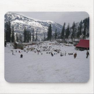 Skiing Holidays Mousepads