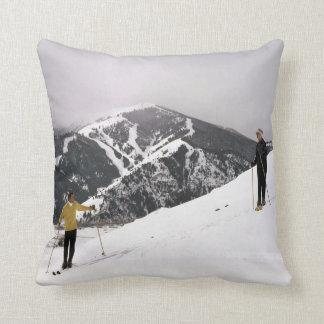 Skiing In Idaho Cushion