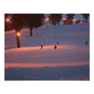 Skiing in Iron Mountain Posters
