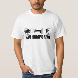 Skiing in New Hampshire T-Shirt