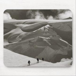 Skiing in the Alaska Range, Denali Mouse Pad