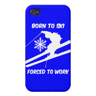 skiing iPhone 4 cases