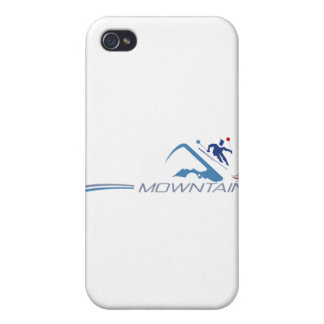 Skiing iPhone 4/4S Covers