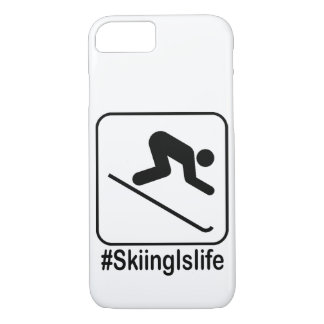 Skiing Is Life! iPhone 8/7 Case