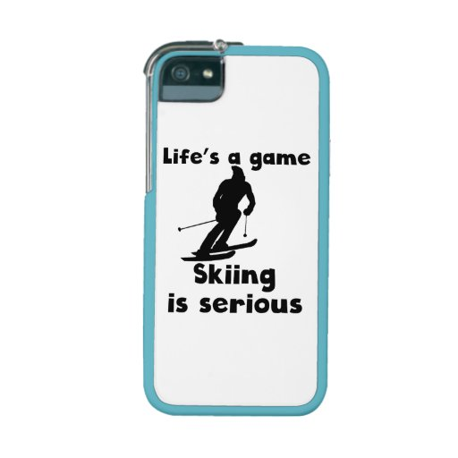 Skiing Is Serious iPhone 5 Covers