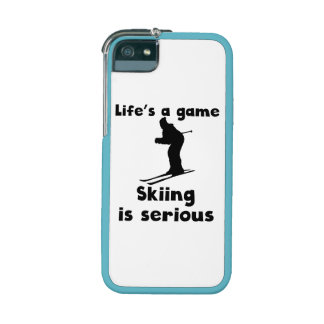 Skiing Is Serious iPhone 5 Cover