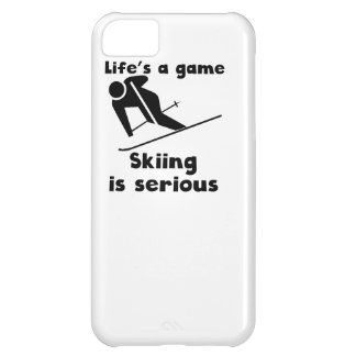 Skiing Is Serious iPhone 5C Case