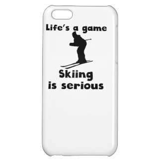 Skiing Is Serious iPhone 5C Covers
