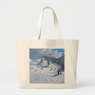 Skiing Kitzbhuel 2014 Jumbo Tote Bag