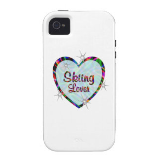 Skiing Lover Vibe iPhone 4 Cases