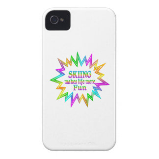 Skiing More Fun Case-Mate iPhone 4 Case