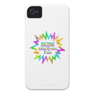 Skiing More Fun iPhone 4 Covers