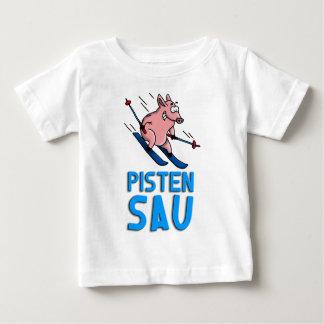 skiing pig baby T-Shirt