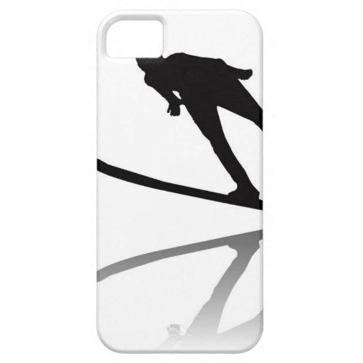 skiing ski resort ski korea ski cartoon water ski iPhone 5 cover