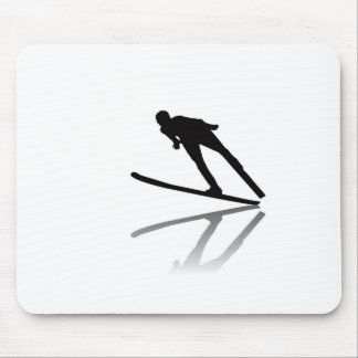 skiing ski resort ski korea ski cartoon water ski mouse pad