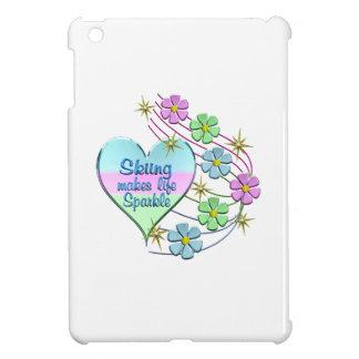Skiing Sparkles iPad Mini Covers