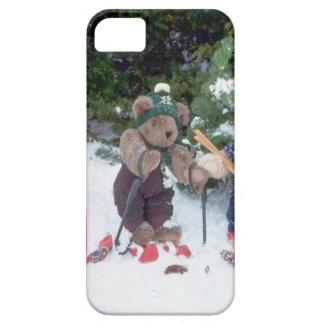 Skiing Teddy Bears on the slopes iPhone 5 Cover