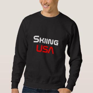 Skiing USA Sweatshirt