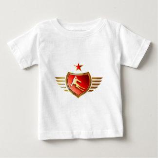 skiing woman baby T-Shirt