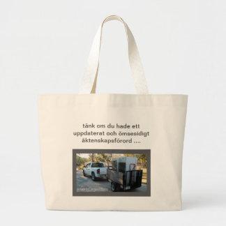 Skiljsmässa Totebag Large Tote Bag