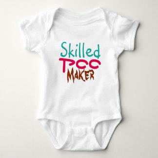 Skilled Poo Maker Baby Bodysuit Design