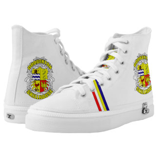 SKILLHAUSE - FAMILY CREST PRINTED SHOES