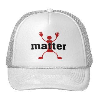 SKILLHAUSE - i matter - RED v2 Cap