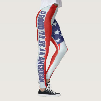 SKILLHAUSE - PROUD TO BE AN AMERICAN LEGGINGS