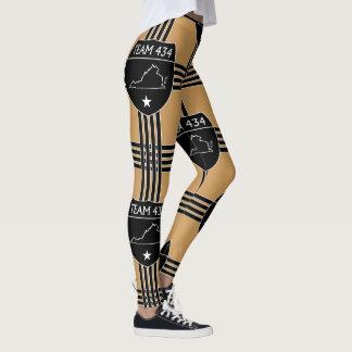 SKILLHAUSE- #TEAM434 - PHASE IV - BLACK SHIELD-CMH LEGGINGS