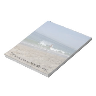 Skimboarder Success; Customizable Notepad