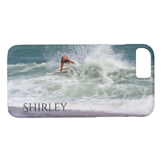 Skimboarding by Shirley Taylor iPhone 8/7 Case