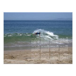 Skimmer Splash; 2013 Calendar Photo Print