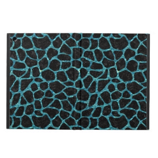SKIN1 BLACK MARBLE & BLUE-GREEN WATER (R) iPad AIR COVER