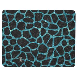 SKIN1 BLACK MARBLE & BLUE-GREEN WATER (R) JOURNAL