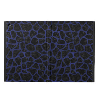 SKIN1 BLACK MARBLE & BLUE LEATHER (R) iPad AIR CASE
