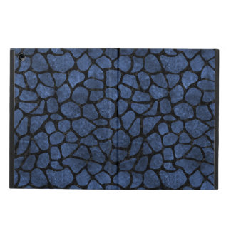 SKIN1 BLACK MARBLE & BLUE STONE iPad AIR CASE