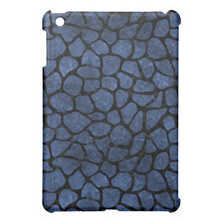 SKIN1 BLACK MARBLE & BLUE STONE iPad MINI COVERS