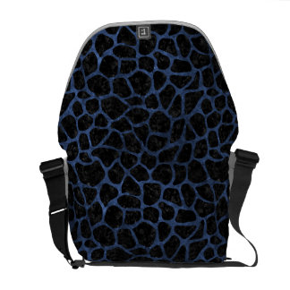 SKIN1 BLACK MARBLE & BLUE STONE (R) COURIER BAGS