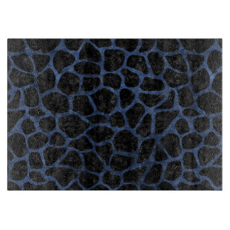 SKIN1 BLACK MARBLE & BLUE STONE (R) CUTTING BOARD
