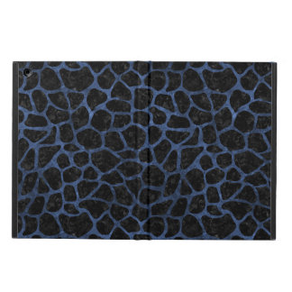 SKIN1 BLACK MARBLE & BLUE STONE (R) iPad AIR COVER