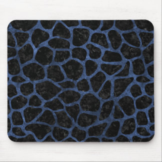 SKIN1 BLACK MARBLE & BLUE STONE (R) MOUSE PAD